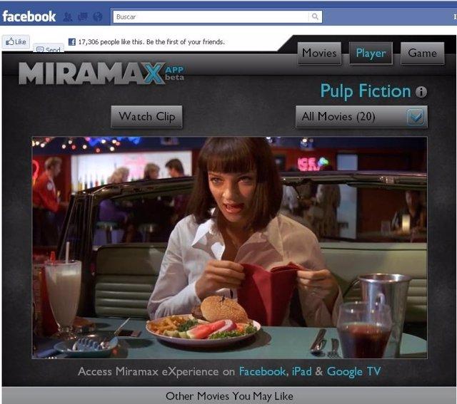 Miramax Experience En Facebook