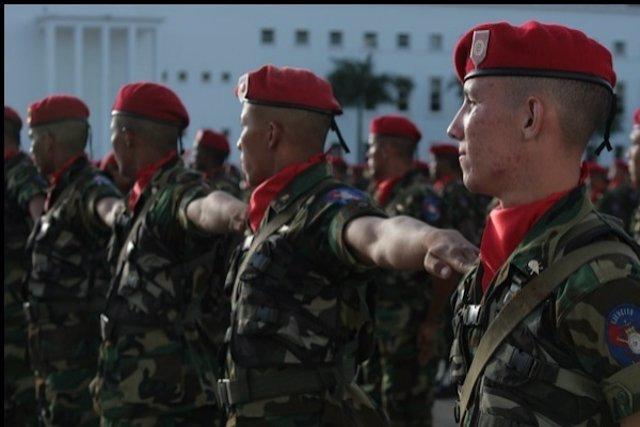 Militares Venezolanos.