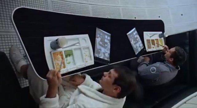 Clip Película Stanley Kubrick '2001: Una Odisea En El Espacio'