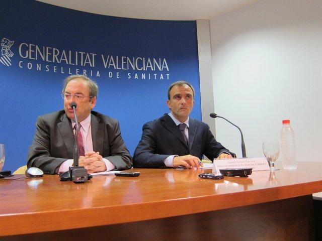 Luis Rosado En Rueda De Prensa