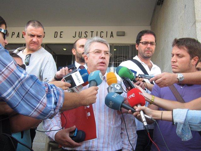 El Portavoz De DAV En Huelva, Eduardo Gómez.