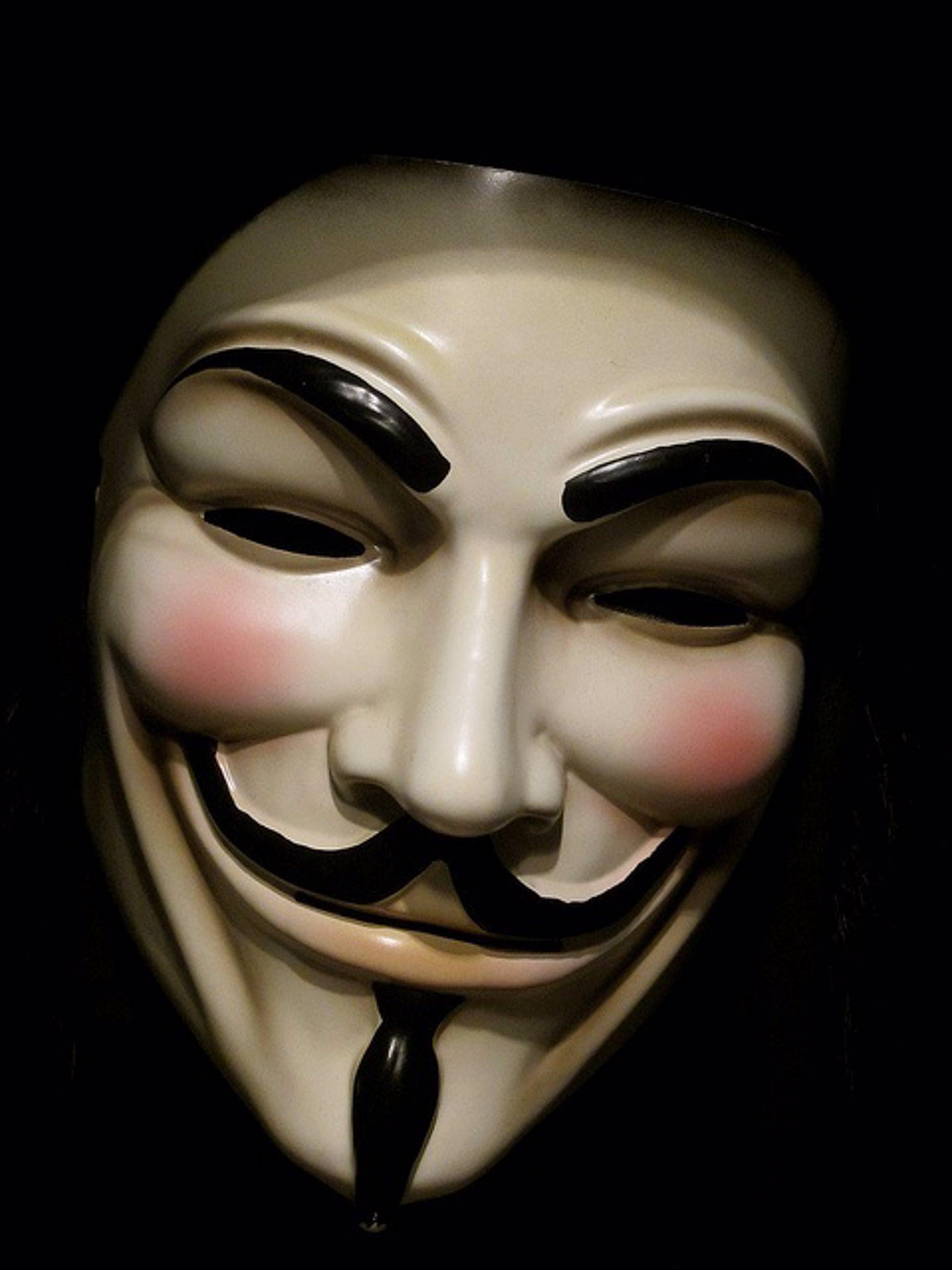 anonymous warner y el negocio de las máscaras de v de vendetta