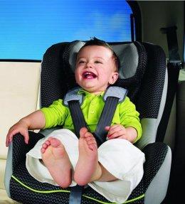 'Sillita' para niño de automóvil