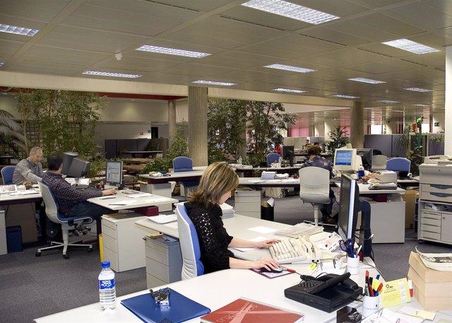 Oficina, sucursal, Caja España