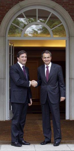 José Luis Rodríguez Zapatero Y Pedro Passos Coelho