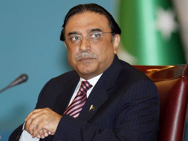 El Presidente De Pakistán, Asif Ali Zardari
