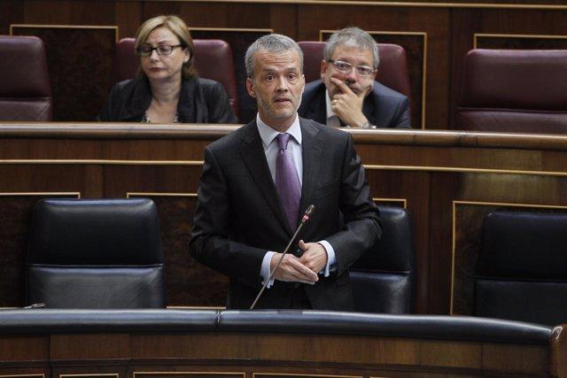 Antonio Camacho en el Congreso