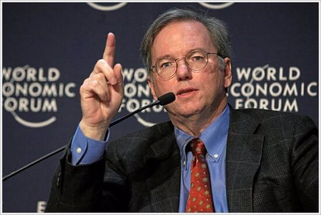 Eric Schmidt Por World Economic Forum CC Flickr