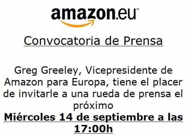 Convocatoria De Amazon