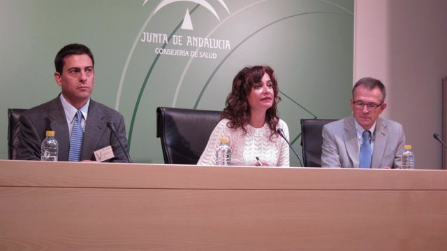 La Consejera De Salud, María Jesús Montero, Durante El Acto De Presentación