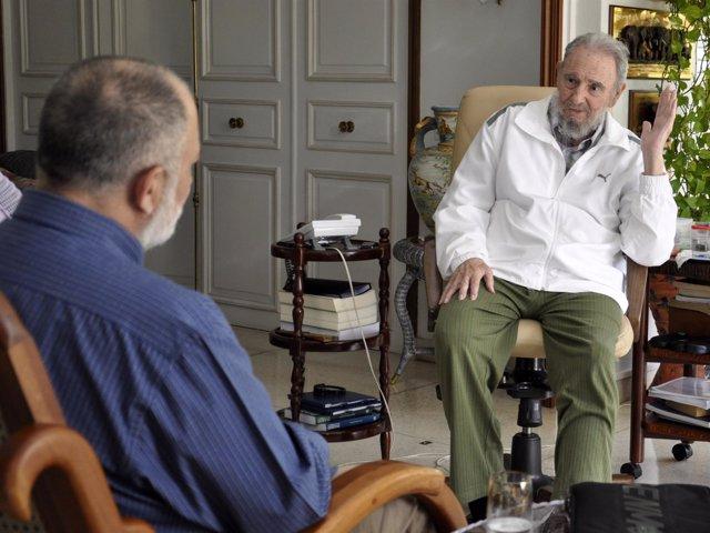 Fidel Castro En Entrevista A VTV (4 De Septiembre De 2011)