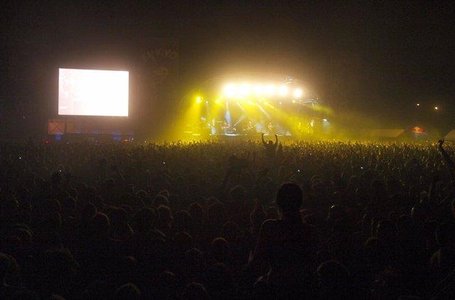 Concierto De The Offspring En El Getafe En Vivo