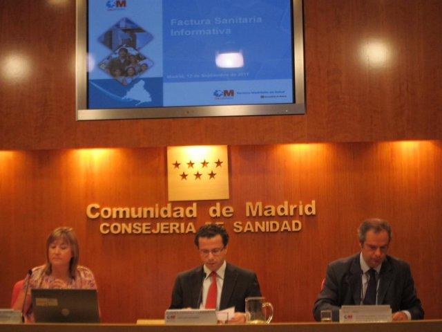 Javier Fernández Lasquetty Durante La Rueda De Prensa