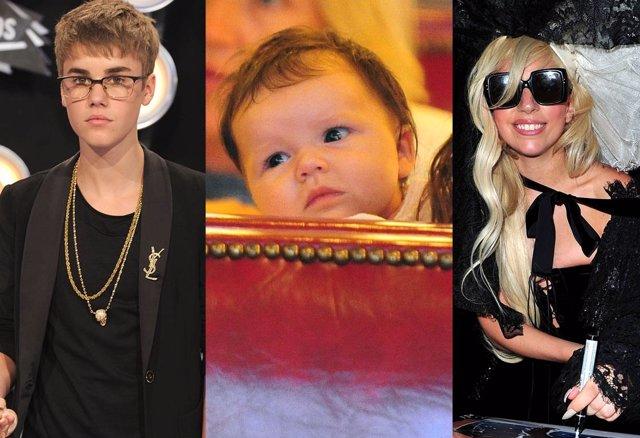 Montaje Harper Seven, Justin Bieber Y Lady Gaga