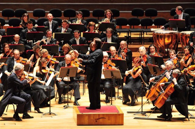 Orquesta Sinfónica de Bilbao.