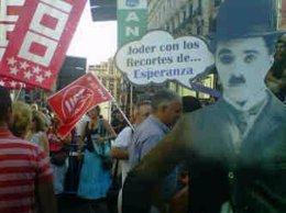 """Marcha Contra Los """"Recortes"""" De La Consejería De Educación"""