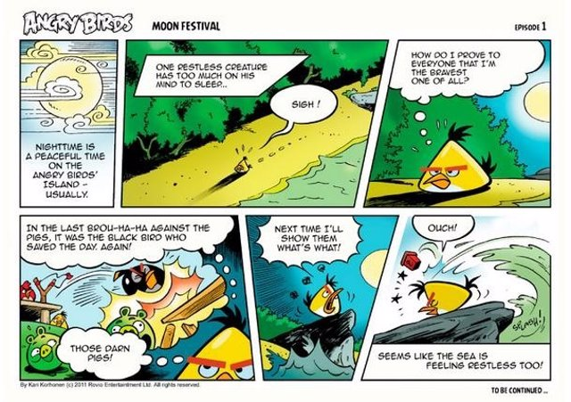 Cómic De Angry Birds Por Rovio