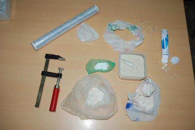 Droga Intervenida En Una Operación En Málaga