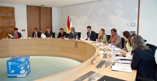 Reunión Semanal Del Consello De La Xunta