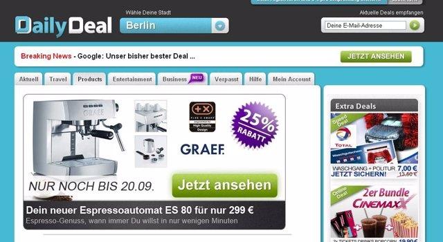Web De Ofertas Alemana Daily Deal