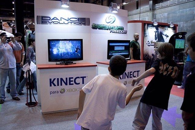 Usuarios Con Kinect Por Wipleybriansins CC Flickr