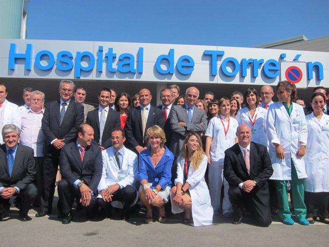 Inauguración Hospital De Torrejón