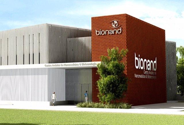 Maqueta Del Centro Andaluz De Nanomedicina Y Biotecnología (BIONAND)