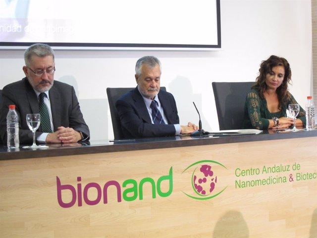 Griñán, Avila Y Montero Inauguran Bioand