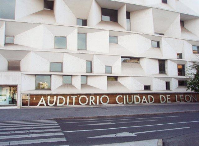 Fachada Del Auditorio  De León