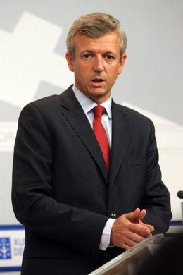 Alfonso Rueda Tras El Consello De La Xunta