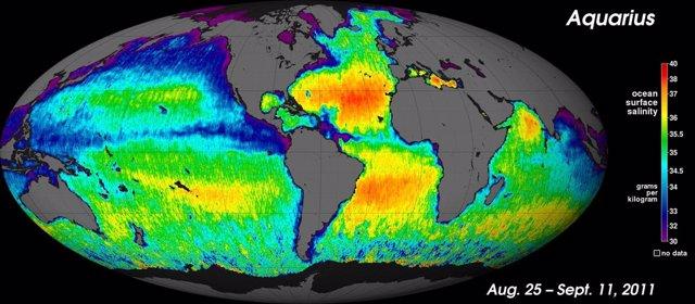 Salinidad Oceánica