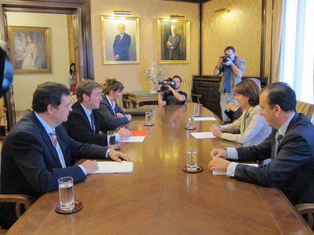 Reunión De La Comisión De Coordinación Del Acuerdo De Gobierno.
