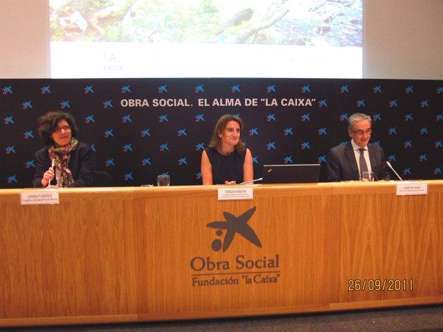 Teresa Ribera Presenta El Estudio Sobre La Biodiversidad Y El Bienestar Humano.
