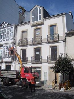 Explosión En La Fundación Fraga, Vilalba (Lugo)