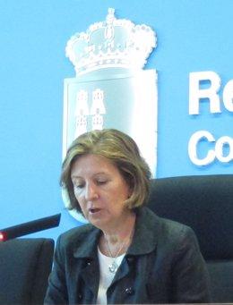 Consejera De Sanidad María Ángeles Palacios