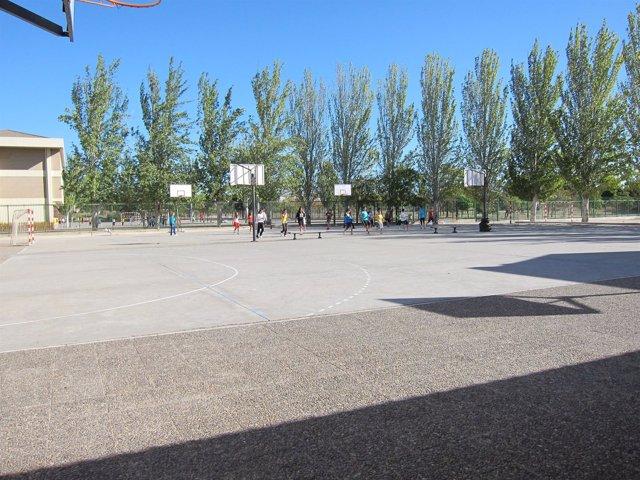 Patio Recreo, Deportes, Colegio
