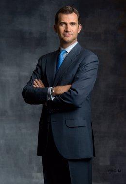 Felipe de Borbón. Príncipe de Asturias