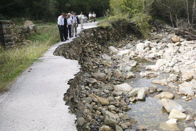 13:30Zona de emergencia de la carretera de Pandillo, Vega de PasEl consejero de