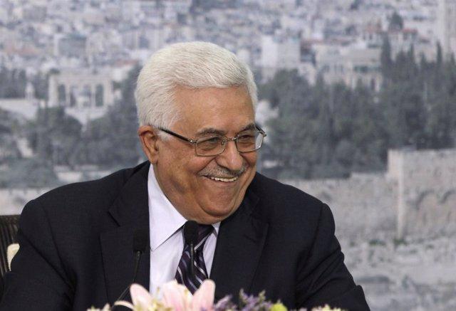 Abbas Durante Un Discurso En Ramallah