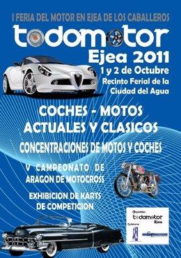 Cartel Anunciador De 'Todomotor Ejea 2011'