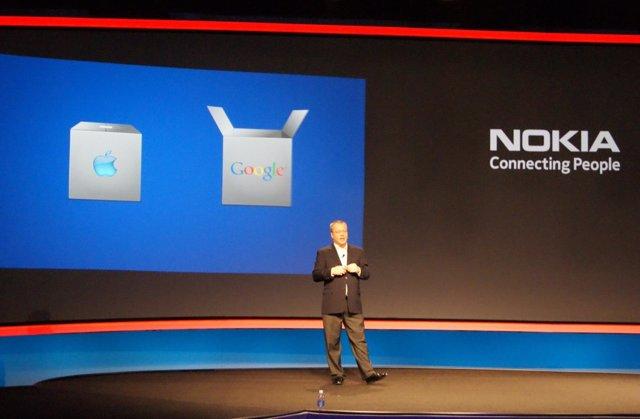 El CEO De Nokia, Stephen Elop