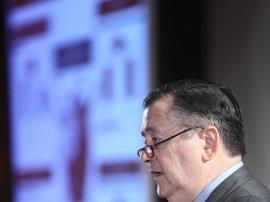 Economía/Finanzas.- (Amp) El Santander afirma que su beneficio se normalizará en tres años