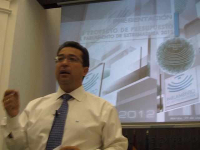 Fernando Manzano Presenta Los Presupuestos