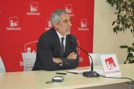 """Llamazares (IU) se alegra de que el Gobierno no haya podido """"malbaratar"""" Loterías"""