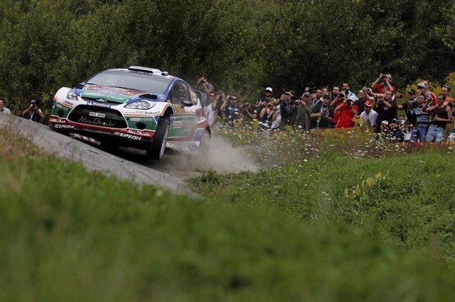 Piloto De Rally Finlandés Mikko Hirvonen