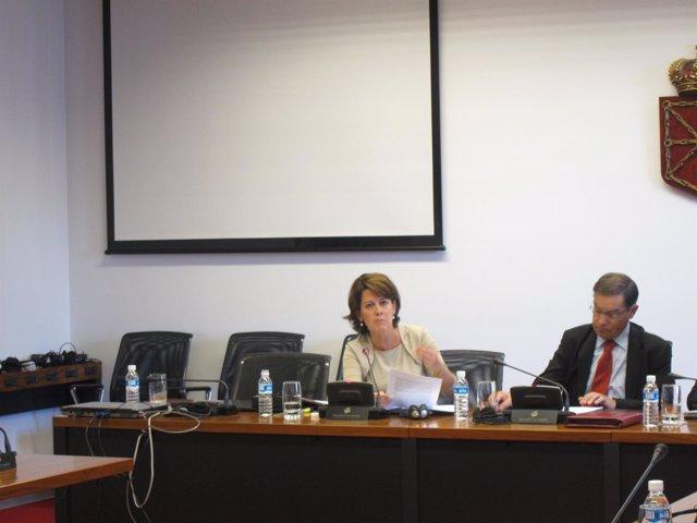 Comparecencia De Yolanda Barcina En Comisión Parlamentaria.