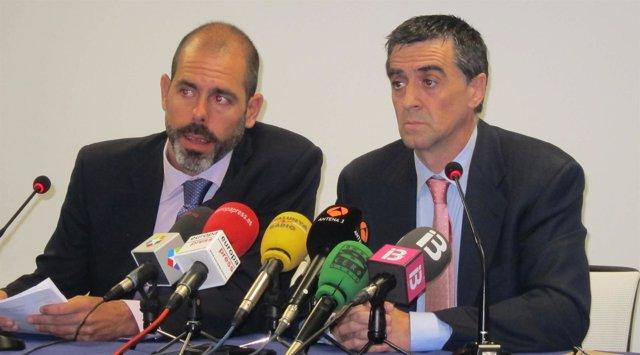 Luis Gómez Lera, Presidente De Aprocta, Y Fernando Marian, Portavoz