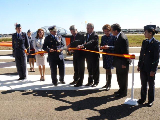 Inauguración 2ª pista aeropuerto de San Javier