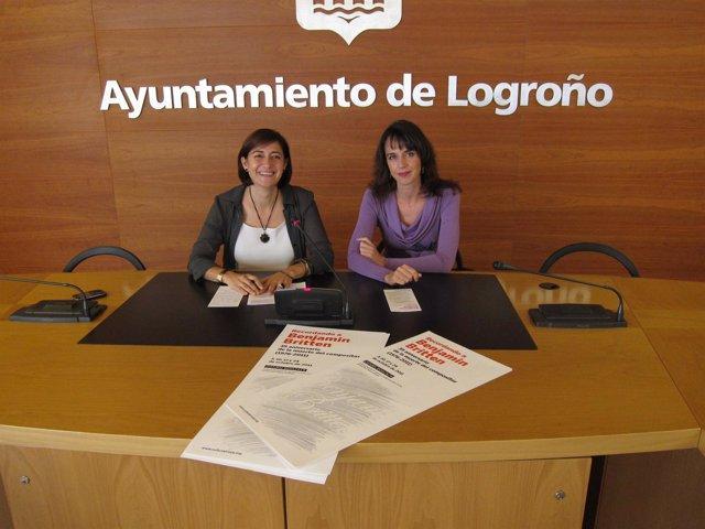 Montes Y Fontalba, En La Presentación De Los Conciertos