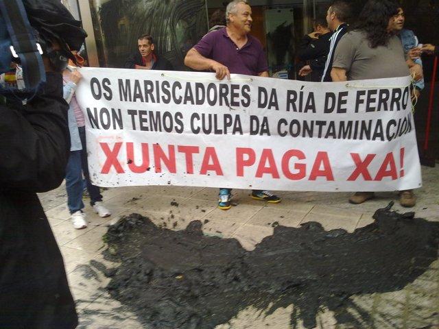 Heridos En Un Altercado Entre Mariscadores Y Un Conductor En Ferrol